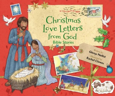 Christmas Love Letters from God  -     By: Glenys Nellist, Rachel Clowes