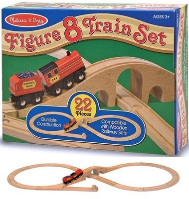 Figure Eight Train Set  -     By: Melissa & Doug
