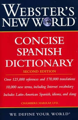 Webster's New World Concise Spanish Dictionary, Second Edition  -
