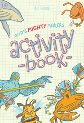 God's Mighty Makers Activity Book   -
