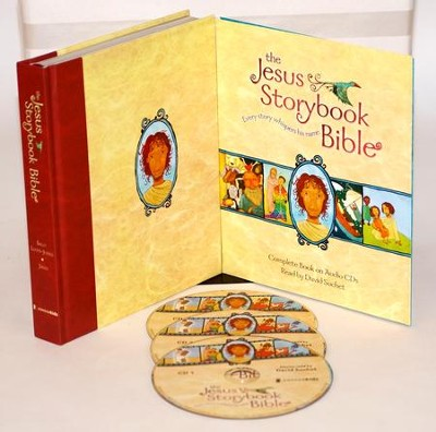 The Jesus Storybook Bible: Every Story Whispers His Name [With Read Along] Deluxe Edition  -     Narrated By: David Suchet     By: Sally Lloyd-Jones