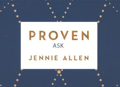 Proven Conversation Cards: Where Christ's Abundance Meets Our Great Need  -     By: Jennie Allen