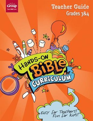 Hands-On Bible Curriculum: Grades 3 & 4 Teacher Guide, Spring 2018  -