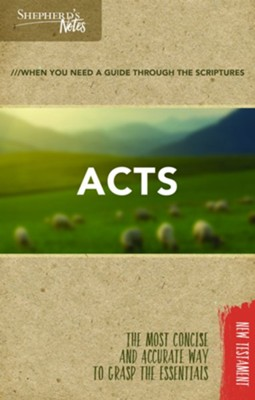 Shepherd's Notes: Acts  -     By: Dana Gould