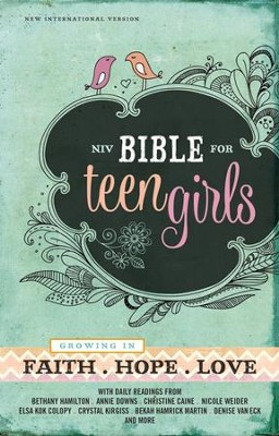 NIV Bible for Teen Girls, hardcover  -
