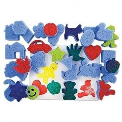 Super Value Favorite Shapes Sponges (Package of 30)   -