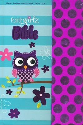 NIV Faithgirlz! Bible, hardcover with magnetic closure  -     By: Nancy N. Rue
