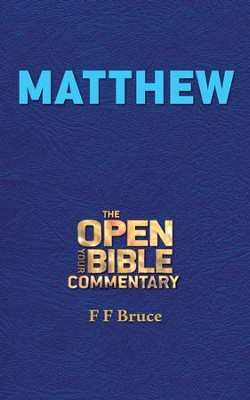 Matthew - eBook  -     By: F.F. Bruce
