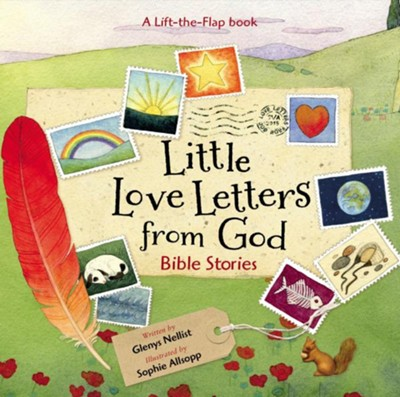 Little Love Letters from God Boardbook  -     By: Glenys Nellist