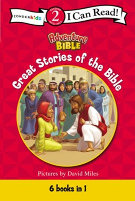 Great Stories of the Bible  -     By: David Miles