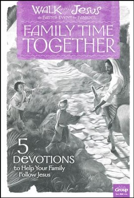 Walk with Jesus Family Time Together Booklet, pack of 10  -
