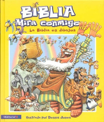 Biblia Mira Conmigo: La Biblia en Dibujos  (See With Me Bible: The Bible Told In Pictures)  -