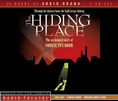 The Hiding Place - Focus on the Family Radio Theatre audiodrama on CD - Slightly Imperfect  -