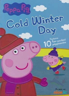 Peppa Pig: Cold Winter Day, DVD   -