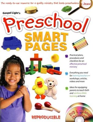 Preschool Smart Pages--Book and CD-ROM   -