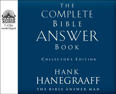 The Complete Bible Answer Book: Collector's Edition Unabridged Audiobook on CD  -     Narrated By: Bob Souer     By: Hank Hanegraaff