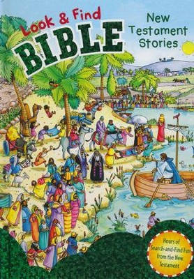 Look and Find Bible: New Testament Stories - eBook  -     By: Gill Guile