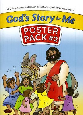 God's Story for Me Poster Pack 2   -