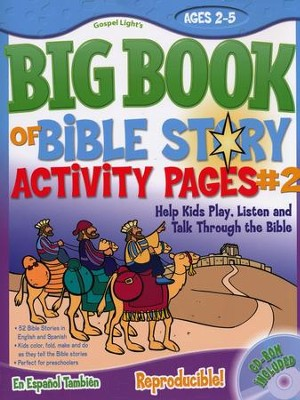 Big Book of Bible Story Activity Pages #2  -