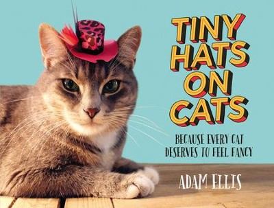 Tiny Hats on Cats: Because Every Cat Deserves to Feel Fancy - eBook  -     By: Adam Ellis
