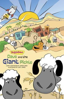 VeggieTales SuperComics: Dave and the Giant Pickle - eBook  -     By: Aaron Linne, Cory Jones, Big Idea Entertainment LLC