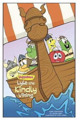 VeggieTales SuperComics: Lyle the Kindly Viking - eBook  -     By: Aaron Linne, Cory Jones, Big Idea Entertainment LLC
