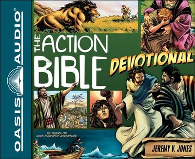 The Action Bible Devotional: 52 Weeks of God-Inspired Adventure Unabridged Audiobook on CD  -     By: Jeremy V. Jones