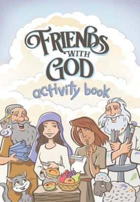 Friends With God Activity Book  -     By: Jeff White
