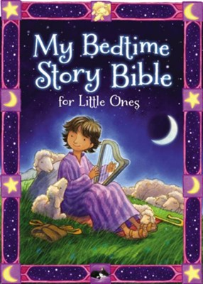 My Bedtime Story Bible for Little Ones Boardbook  -     By: Jean E. Syswerda     Illustrated By: Daniel Howarth