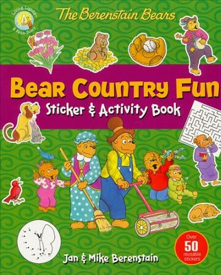 The Berenstain Bears Bear Country Fun Sticker & Activity Book  -     By: Jan Berenstain, Mike Berenstain