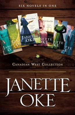 Canadian West Collection: Six Novels in One - eBook  -     By: Janette Oke