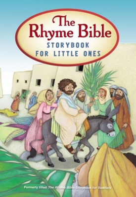 The Rhyme Bible Storybook for Little Ones Boardbook   -     By: L.J. Sattgast