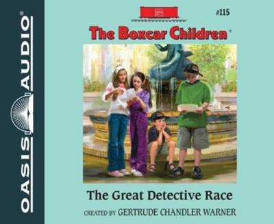 The Great Detective Race Unabridged Audiobook on CD  -     By: Gertrude Chandler Warner