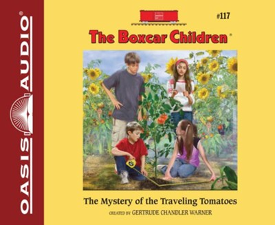The Mystery of the Traveling Tomatoes Unabridged Audiobook on CD  -     By: Gertrude Chandler Warner