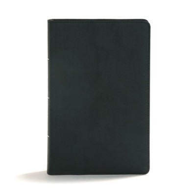 CSB Disciple's Study Bible, Black LeatherTouch  -     By: Robby Gallaty