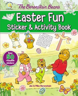 The Berenstain Bears Easter Fun Sticker & Activity Book  -     By: Jan & Mike Berenstain     Illustrated By: Jan Berenstain, Mike Berenstain