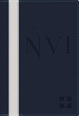 Santa Biblia Edicion Conmemorativa NVI, NVI Deluxe Larger Text Bible--soft leather-look  -