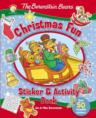 The Berenstain Bears Christmas Fun Sticker and Activity Book  -     By: Jan Berenstain, Mike Berenstain
