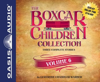 The Boxcar Children Collection Volume 6: Mystery in the Sand, Mystery Behind the Wall, Bus Station Mystery Unabridged Audiobook on CD  -     Narrated By: Tim Gregory, Aimee Lilly     By: Gertrude Chandler Warner