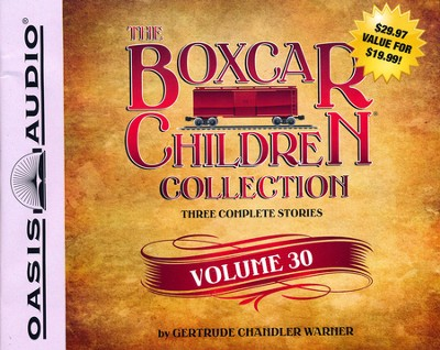 The Boxcar Children Collection Volume 30                       -     Narrated By: Aimee Lilly     By: Gertrude Chandler Warner