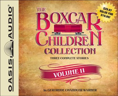 The Boxcar Children Collection Volume 11: The Mystery of the Singing Ghost, The Mystery in the Snow, The Pizza Mystery Unabridged Audiobook on CD  -     By: Gertrude Chandler Warner