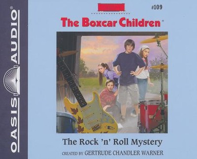 #109: The Rock N' Roll Mystery - unabridged audiobook on CD  -     By: Gertrude Chandler Warner
