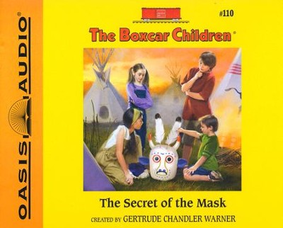 #110: The Secret of the Mask - unabridged audiobook on CD  -     Narrated By: Aimee Lilly     By: Gertrude Chandler Warner