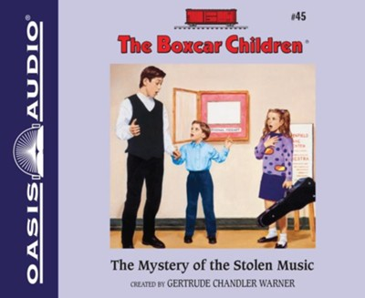 #45: The Mystery of the Stolen Music - unabridged audiobook on CD  -     Narrated By: Aimee Lilly     By: Gertrude Chandler Warner