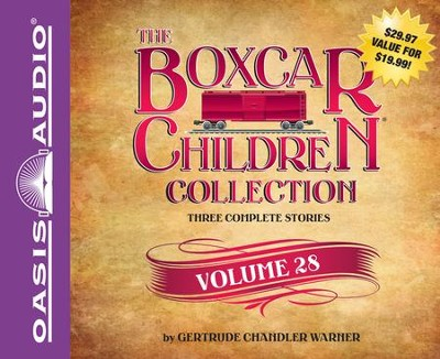 The Boxcar Children Collection Volume 28: The Summer Camp Mystery, The Copycat Mystery, The Haunted Clock Tower Mystery Unabridged Audiobook on CD  -     By: Gertrude Chandler Warner