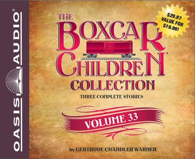 The Boxcar Children Collection Volume 33: The Radio Mystery, The Mystery of the Runaway Ghost, The Finders Keepers Mystery Unabridged Audiobook on CD  -     By: Gertrude Chandler Warner