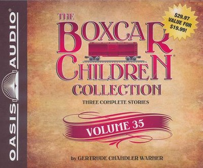The Boxcar Children Collection Volume 35                         -     Narrated By: Aimee Lilly, Tim Gregory     By: Gertrude Chandler Warner