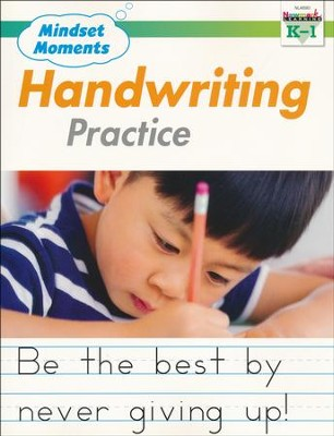 Mindset Moments: Handwriting Practice, Grades K-1  -