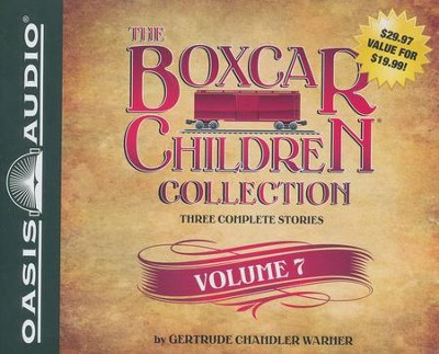 The Boxcar Children Collection Volume 7: Benny Uncovers a Mystery Haunted Cabin Mystery Deserted Library Mystery - unabridged audiobook on CD  -     By: Gertrude Chandler Warner