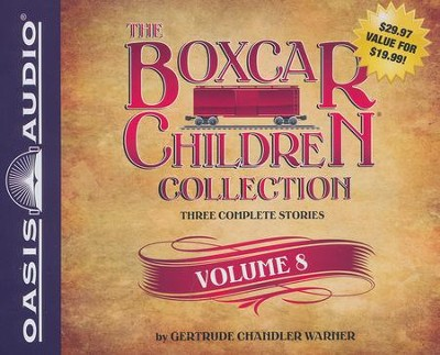 The Boxcar Children Collection Volume 8: The Animal Shelter Mystery Old Motel Mystery Mystery of the Hidden Painting - unabridged audiobook on CD  -     By: Gertrude Chandler Warner